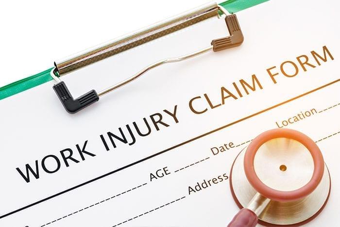 injured at work claim form
